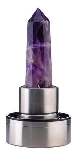 Termo Botella Agua Cristales Cuarzo Energía Chakras Estuche