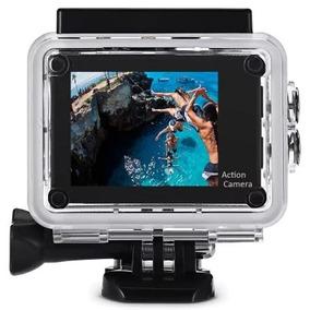 Câmera P Ação Sports Full Hd 1080p 30 Metros Prova A