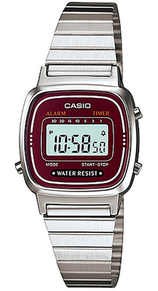 Relógio Casio Feminino La670wa-4df