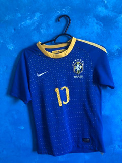 Camisa Futebol Infantil Brasil