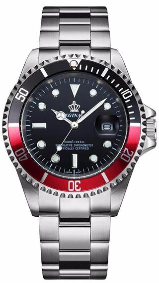 Reloj Fanmis Luxury A Inox Plata Redondo Unisex Pn K670