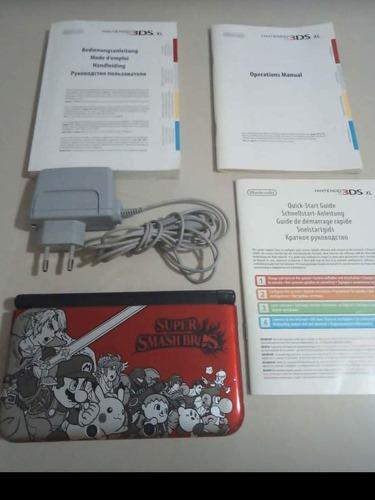 Nintendo 3ds Xl Edición Súper Smash Bros