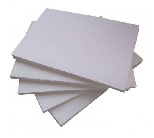 400 Folhas Papel Matte Fosco Adesivo À Prova D