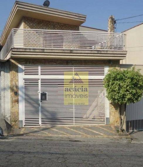 Sobrado Com 3 Dormitórios Para Alugar, 190 M² Por R$ 3.400/mês - Parque São Domingos - São Paulo/sp - So2747
