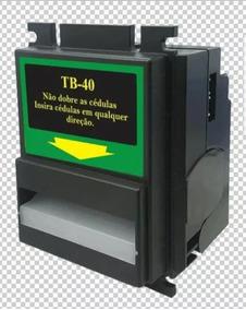 Noteiro Tb40 Bv20 Jukebox Fliperemas Vending Machine