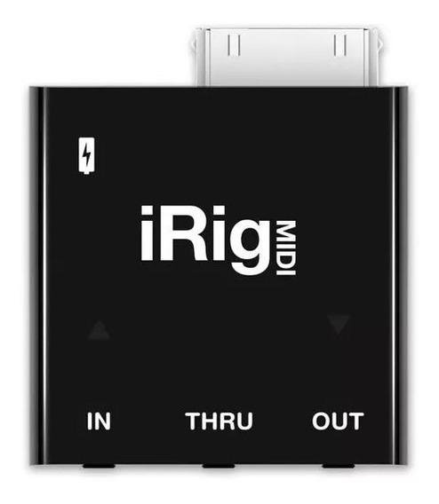Interface Ik Multimedia Irig Midi (iPhone/iPad) C/lightning