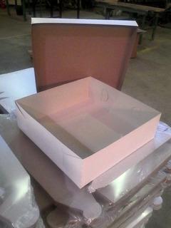 Cajas Para Tortas 30x30 Paquete De 50 Cajas