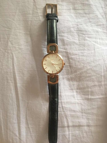 Relógio Dkny - Pulseira De Couro - Original