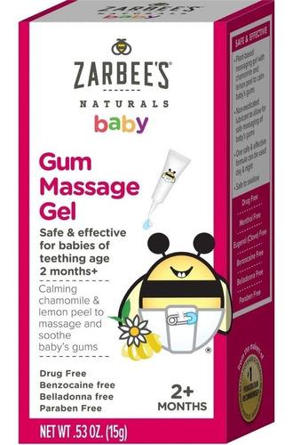 Zarbee's Naturals Baby Gum Massage Gel - Para Dentição 2+