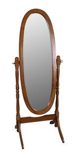 Espejo Ovalado De Piso Excelente Acabado ¡ Envió Gratis!