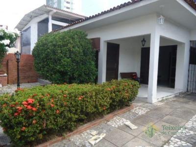 Casa Com 3 Dormitórios À Venda, 109 M² Por R$ 600.000 - Manaíra - João Pessoa/pb - Ca0038