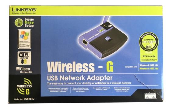 Adaptador Usb Wi-fi G Linksys Wusb54g