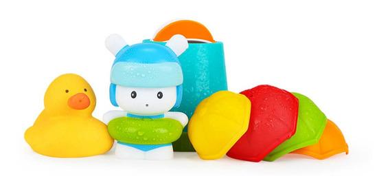 7 Pçs / Lote Xiaomi Mitu Hape Bebê Chuveiro Brinquedo Set