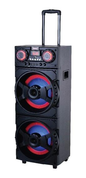 Caixa Amplificada Amvox Aca 1001 Turbo Player 1000w Karaokê