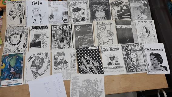 Fanzines Contra Cultura E Arte Anos 90 E 2000