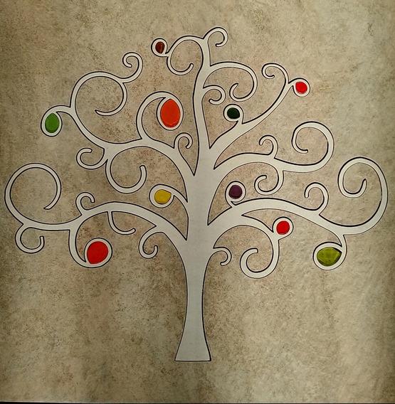Mosaico - Roseton Arbol De La Vida