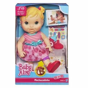 Boneca Baby Alive - Machucadinho Loira A5390