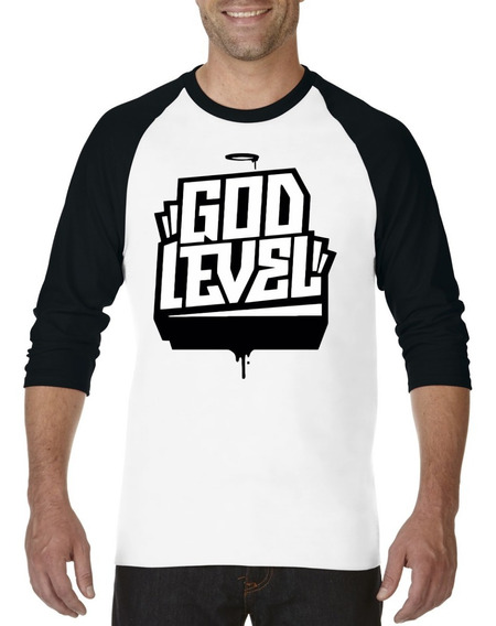Playera Musica Rap Hip Hop God Level Evento