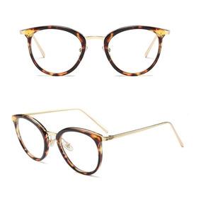 f0665553e Oculos De Grau Feminino Armação Em Acetato Geek Vintage Gato