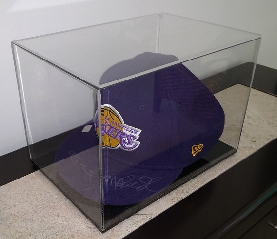 Gorra Lakers Firmada Magic Johnson Y Kobe Bryant Certificado