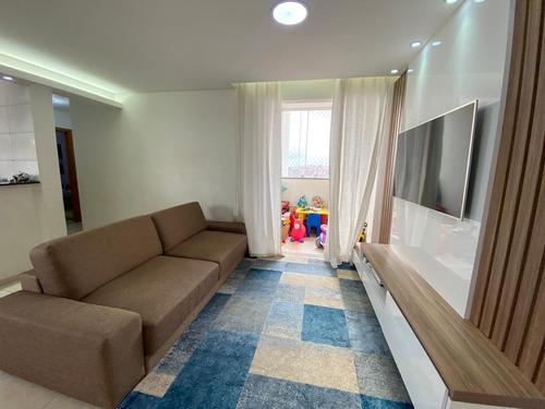 Imagem 1 de 14 de Apartamento À Venda, 2 Quartos, 1 Suíte, 1 Vaga, Riacho Das Pedras - Contagem/mg - 24912