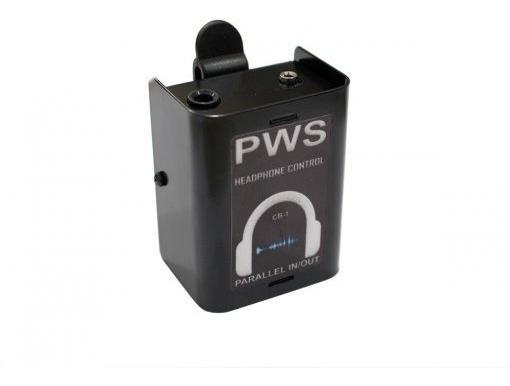 Box Adptador P/fone De Ouvido Pws Cb 1 In Xlr Out P2 Estereo