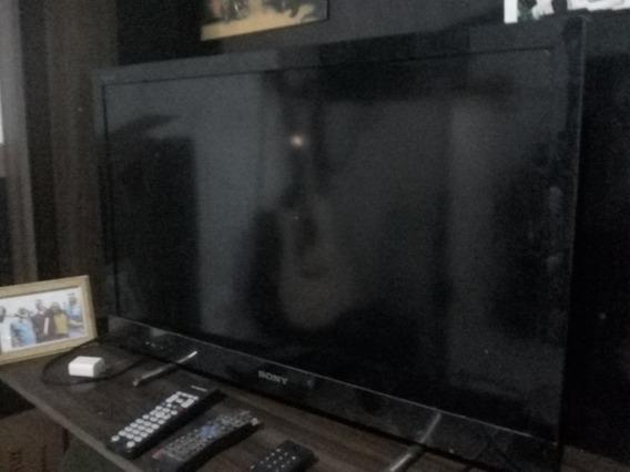 Tv Led Sony (precisa Manutenção Mas Funciona) + Tv Box