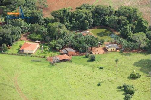 Chácara Com 1 Dormitório À Venda, 147136 M² Por R$ 1.500.000,00 - Zona Rural - Alexânia/go - Ch0088
