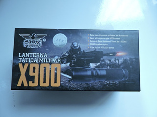 Lanterna De Led Tática Militar Recarregável X900 Jyx