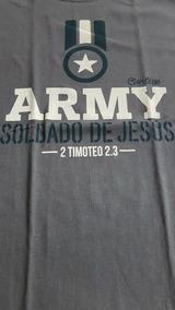 Playera Cristiana Army