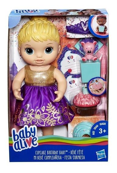 Boneca Baby Alive Festa Surpresa Loira - Hasbro E0596
