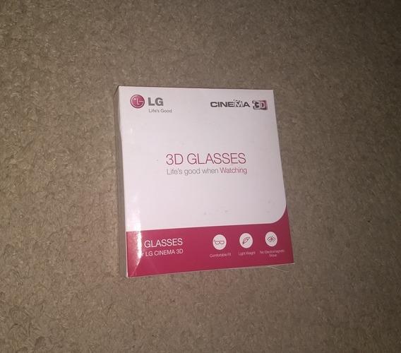 4 Óculos Cinema 3d LG Ag-f310 Original