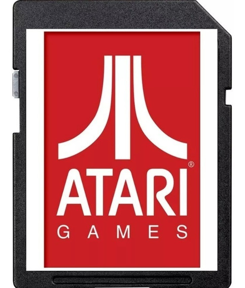 Atari Flashback Portátil Sd Card 1020 Jogos - Cartão Atari