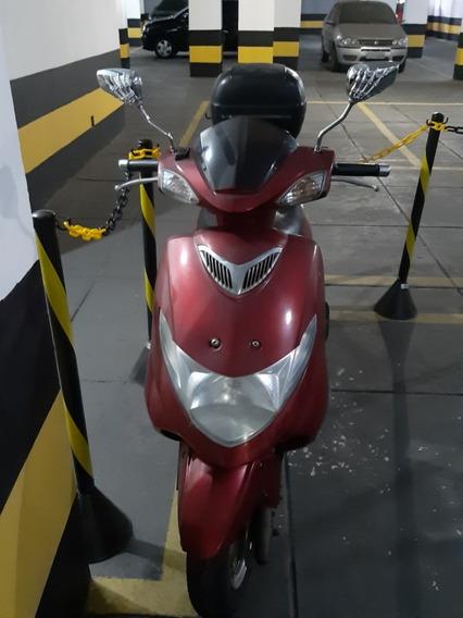 Suzuki Burgman An 125 Cc Vermelha Placa Mercosul E 2019 Pago
