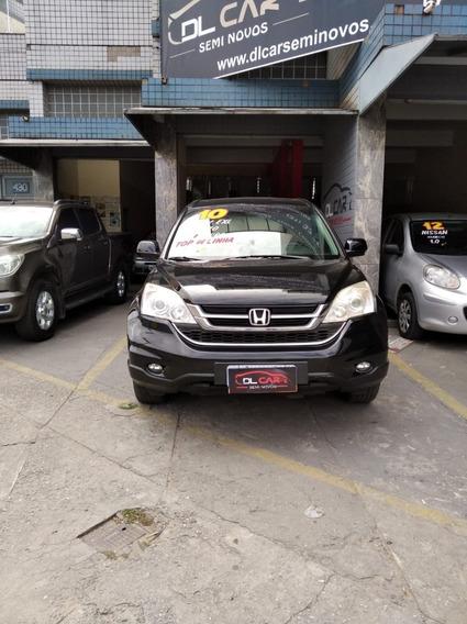 Honda Cr-v Exl Teto E Couro Automática Ano 2010/2010