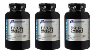 3 X Fish Oil Omega 3 - 100 Sofgel (total 300) Performance