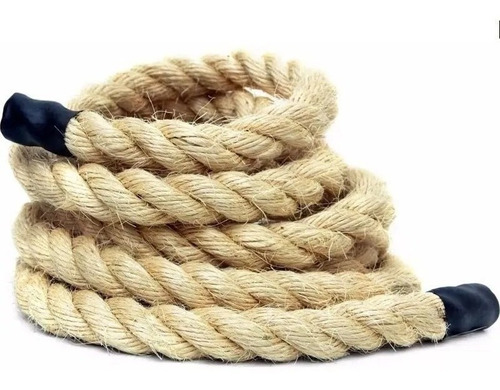 Imagem 1 de 2 de Corda Naval Sisal 32mm 7mts Rope Climb Cross Funcional Cw