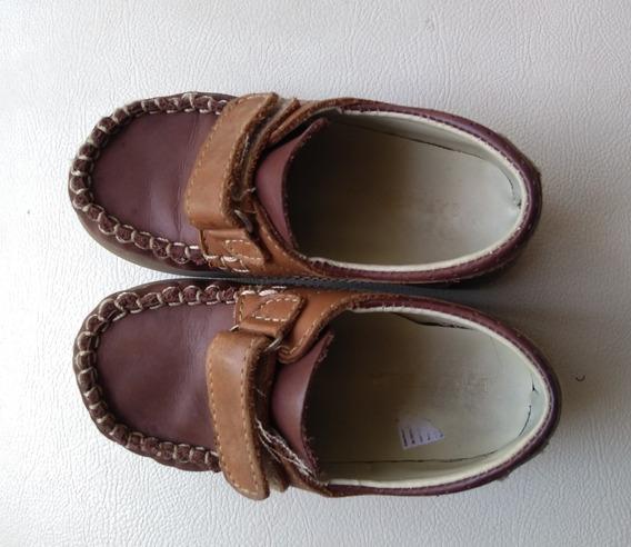 Zapatos Náutico #25 Cuero Batistella