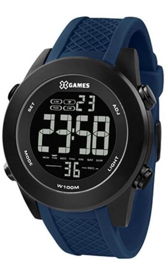 Relógio X-games Masculino Xteel Preto Xmnpd002-pxdx