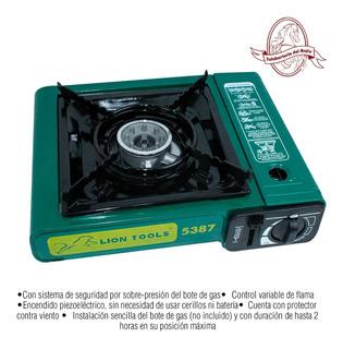 Estufa Portatil De Gas Con Estuche Cod. 5387