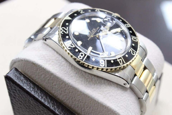 Rolex Gmt 16753 Stainless Steel 18k
