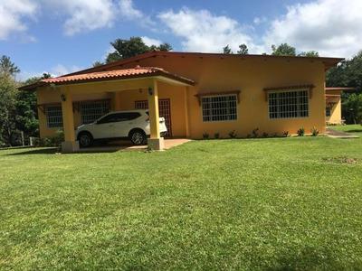 18-122ml Bella Casa De Campo Carretera Panamericana Capira