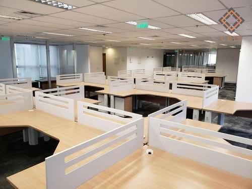 Conjunto Para Alugar, 509 M² Por R$ 16.000,00 - Brooklin - São Paulo/sp - Cj20111