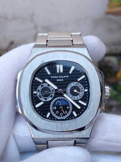 Reloj Premium Hombre Patek Philippe Acero Envío Gratis