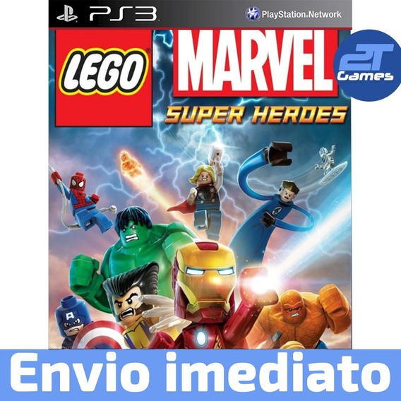 Lego Super Heroes Ps3 Psn Midia Digital Envio Rápido