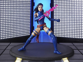 Marvel Legends Psylocke Purple (apocalypse Baf) - Ndtoys