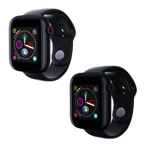 2 Piezas Smartwatch Android iPhone Celular Reloj Bluetooth