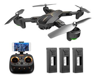 Dron Visuo Xs812 Con Cámara Gps 4k Gran Angular Wifi Fpv