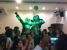 Robot Led 3 Metros De Alto Espectacular Show