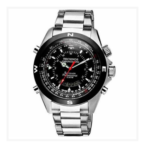Relógio Technos Skydiver Analógico E Digital Modelo T20560